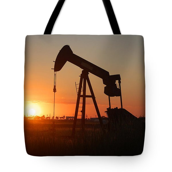 Making Tea At Sunset 2 Tote Bag by Leticia Latocki