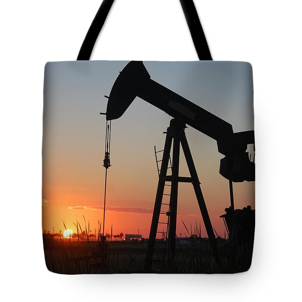 Making Tea At Sunset Tote Bag by Leticia Latocki