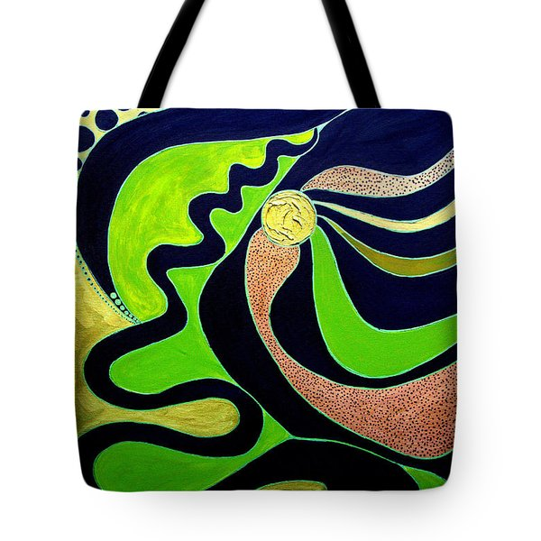 Making Waves.. Tote Bag by Jolanta Anna Karolska