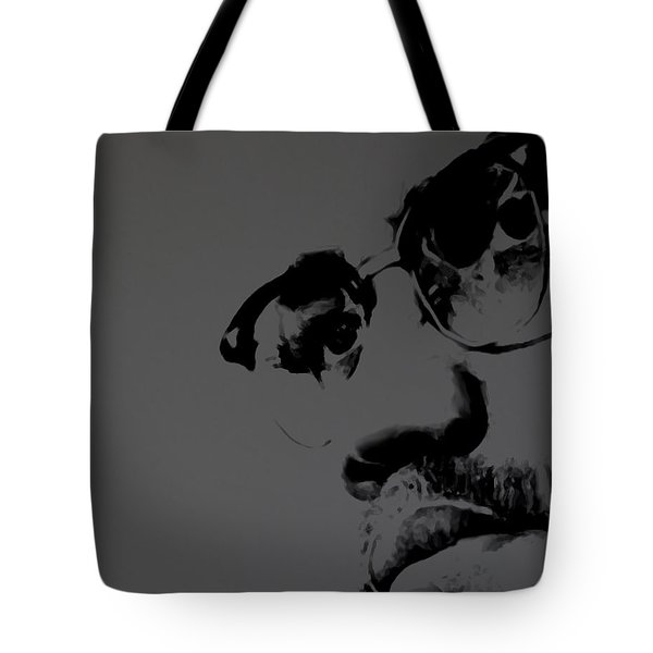 Malcolm X Tote Bag by Brian Reaves