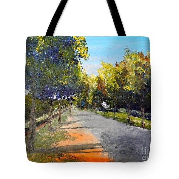 Maldon Victoria Australia Tote Bag by Pamela  Meredith
