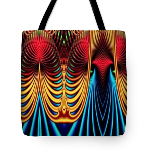 Tote Bag featuring the mixed media Male And Female by Rafael Salazar