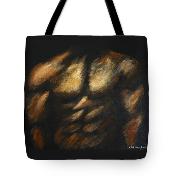 Male Bodybuilder Tote Bag