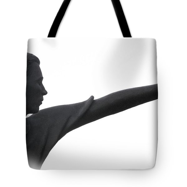Male Educator Reaching Out Two Tote Bag by Tina M Wenger