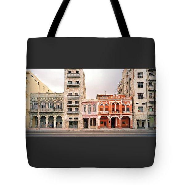 Malecon In Havana Tote Bag