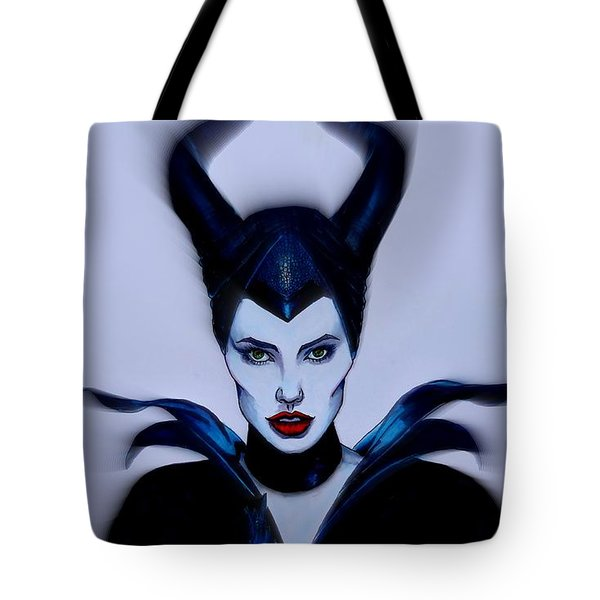 Maleficent Focused Tote Bag