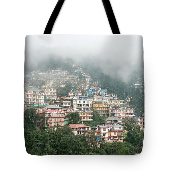 Tote Bag featuring the photograph Maleod Ganj Of Dharamsala by Yew Kwang