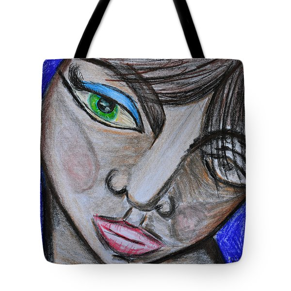 Malevolence Tote Bag by Donna Blackhall