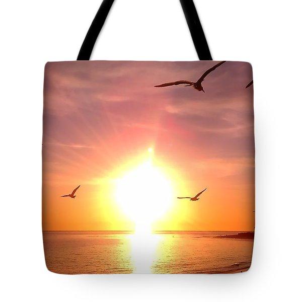 Malibu Paradise Tote Bag by Chris Tarpening