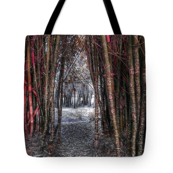 Malice In Wonderland Tote Bag