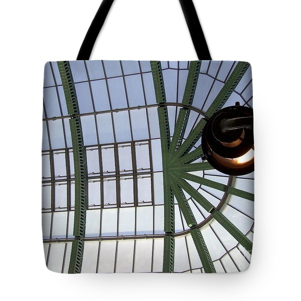 Mall Of Emirates Skylight Tote Bag by Andrea Anderegg