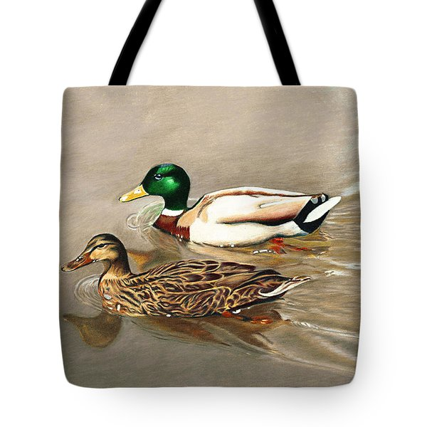 Mallards Tote Bag