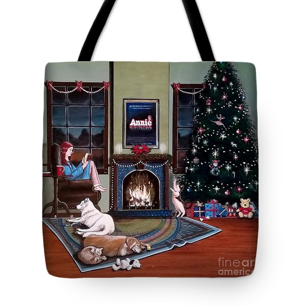 Mallory Christmas Tote Bag