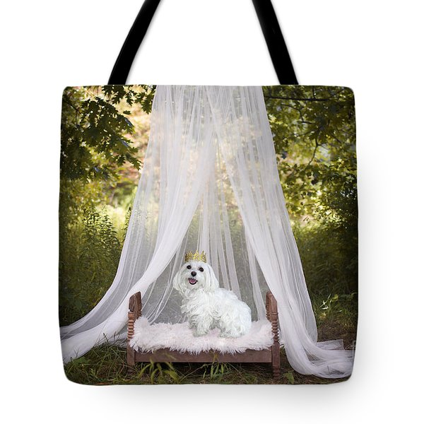 Maltese Princess Tote Bag