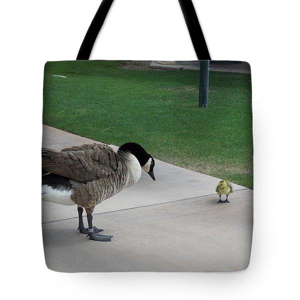 Mama And Baby Tote Bag