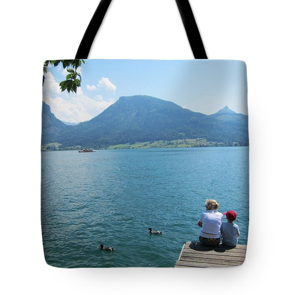 Mama And I Tote Bag by Pema Hou