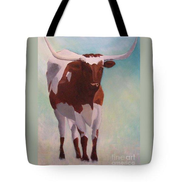 Mama Longhorn Tote Bag