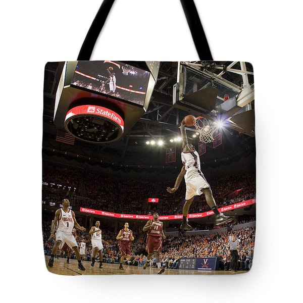 Mamadi Diane Dunk Against Boston College Tote Bag by Jason O Watson