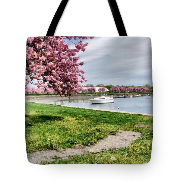 Mamaroneck Harbor Tote Bag