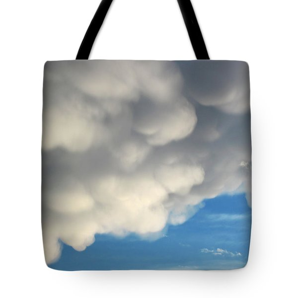 Mammatus Clouds Tote Bag