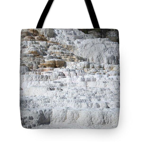 Mammoth Hotsprings 3 Tote Bag