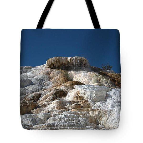 Mammoth Hotsprings 4 Tote Bag