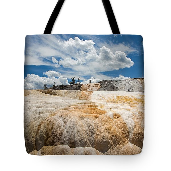 Mammouth Terraces Tote Bag
