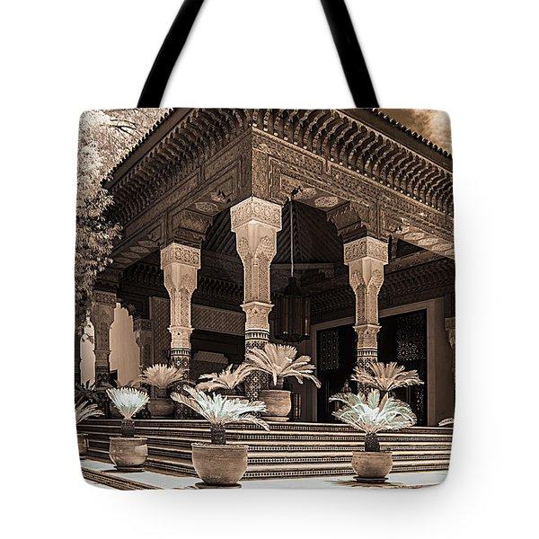 Mamounia Hotel In Marrakech Tote Bag