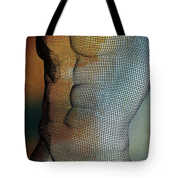 Man Body Tote Bag by Mark Ashkenazi