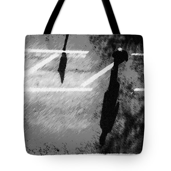 Man Crossing Tote Bag