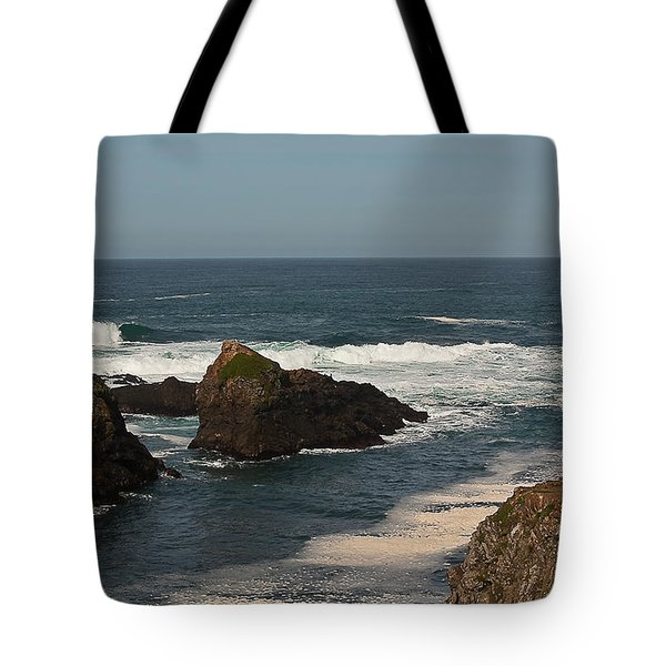 Tote Bag featuring the photograph Man Fishing by Brian Williamson