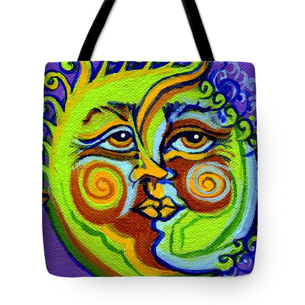 Man In The Moon Tote Bag by Genevieve Esson