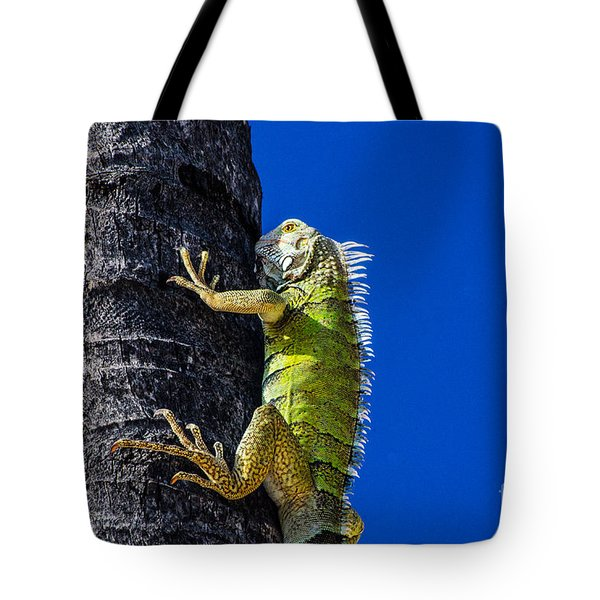 Man Is This Beach Crowded Tote Bag