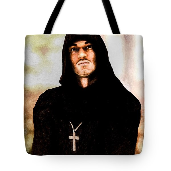 Man Of Peace Tote Bag by Bob Orsillo