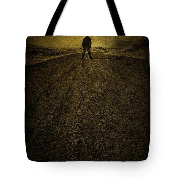Man On A Mission Tote Bag by Evelina Kremsdorf