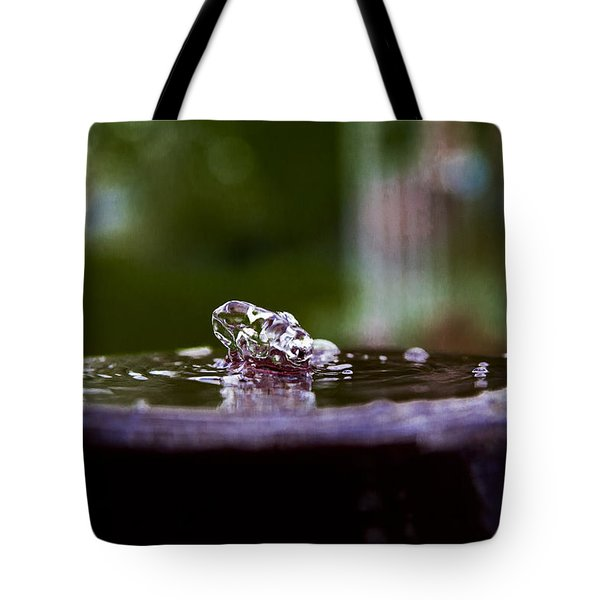 Man On The Surface Tote Bag