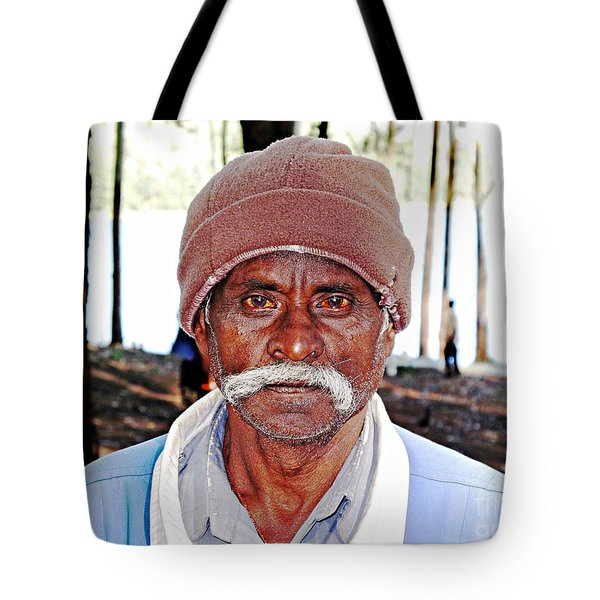 Man With A Mustache Tote Bag by Ethna Gillespie