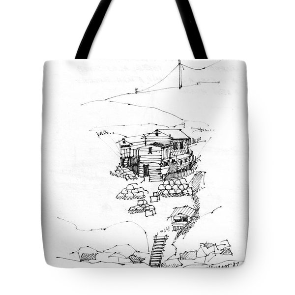 Manana Hermitage Tote Bag
