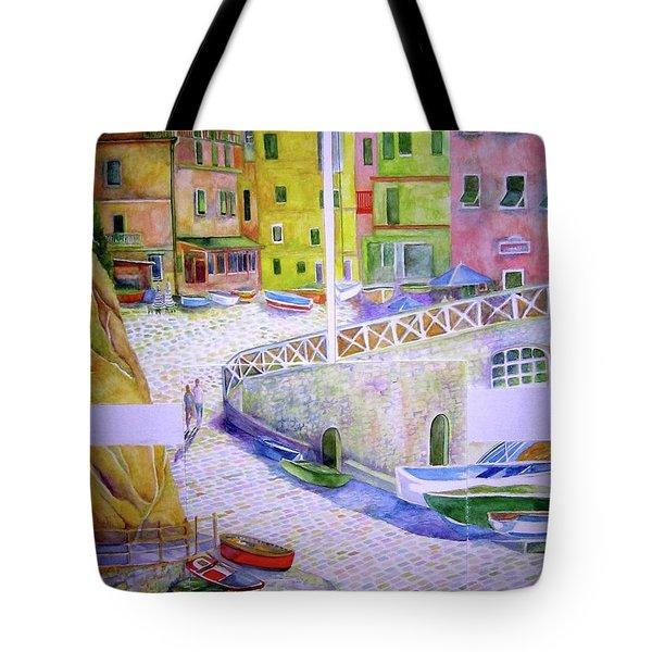 Manarola Tote Bag