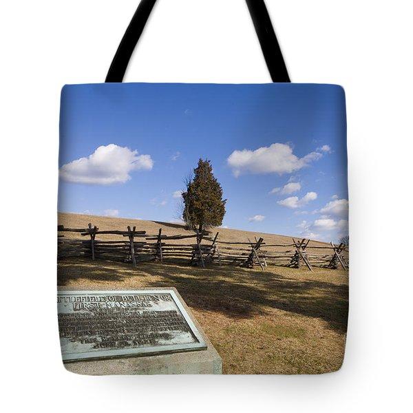 Manassas National Battlefield Park Tote Bag