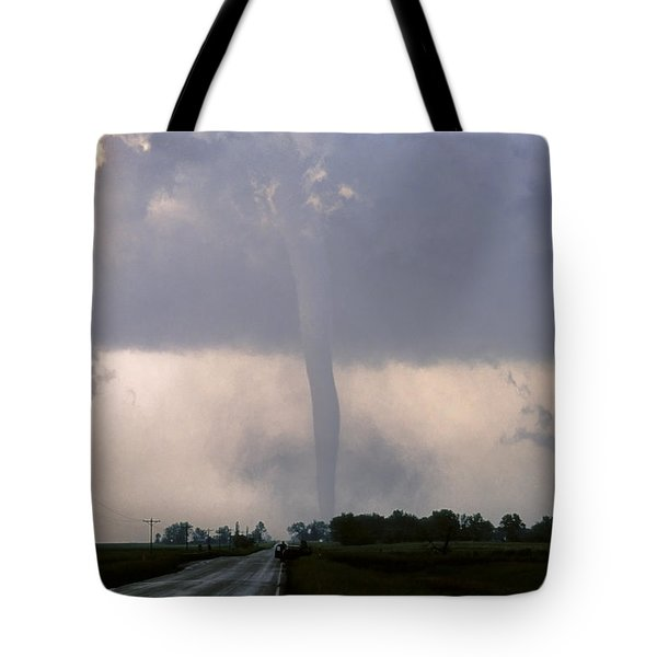 Manchester Tornado 2 Of 6 Tote Bag by Jason Politte