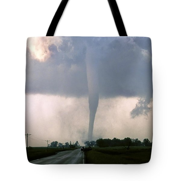 Manchester Tornado 3 Of 6 Tote Bag by Jason Politte