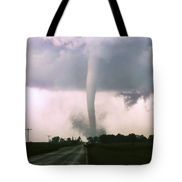 Manchester Tornado 4 Of 6 Tote Bag by Jason Politte