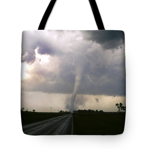 Manchester Tornado 5 Of 6 Tote Bag by Jason Politte