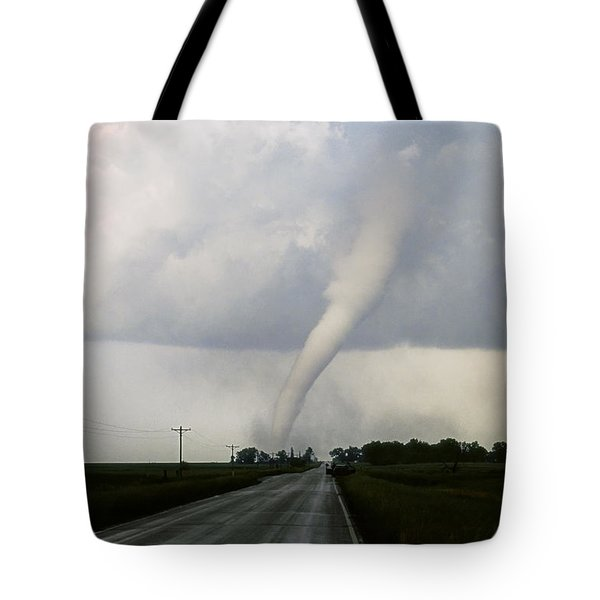 Manchester Tornado 6 Of 6 Tote Bag by Jason Politte