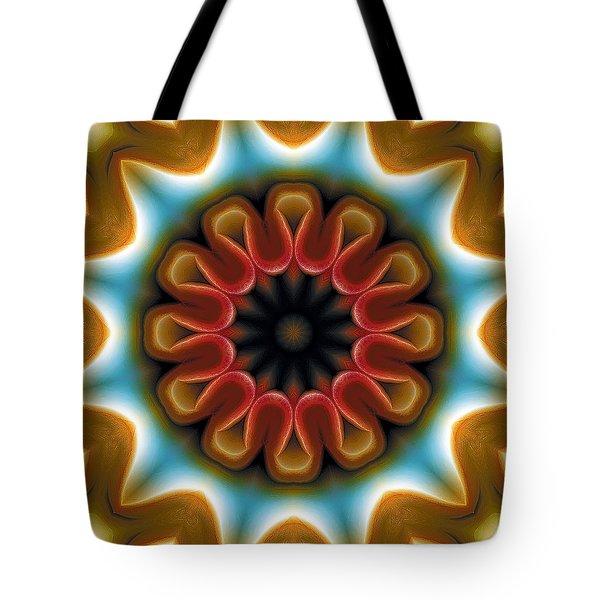 Mandala 100 Tote Bag by Terry Reynoldson