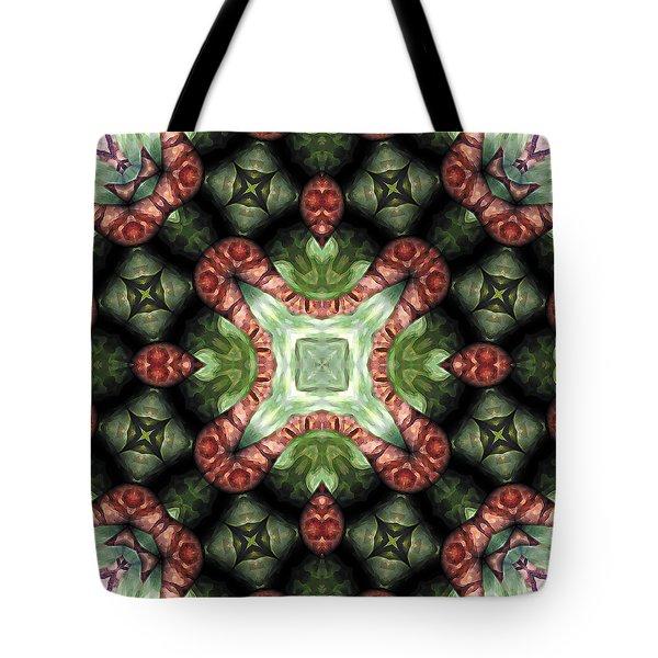 Mandala 113 Tote Bag by Terry Reynoldson