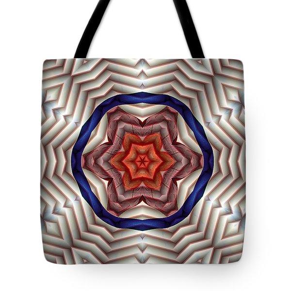 Mandala 12 Tote Bag by Terry Reynoldson