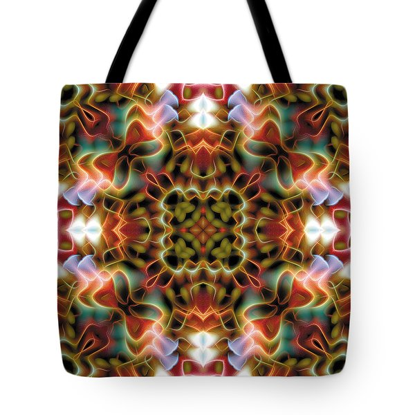 Mandala 120 Tote Bag by Terry Reynoldson
