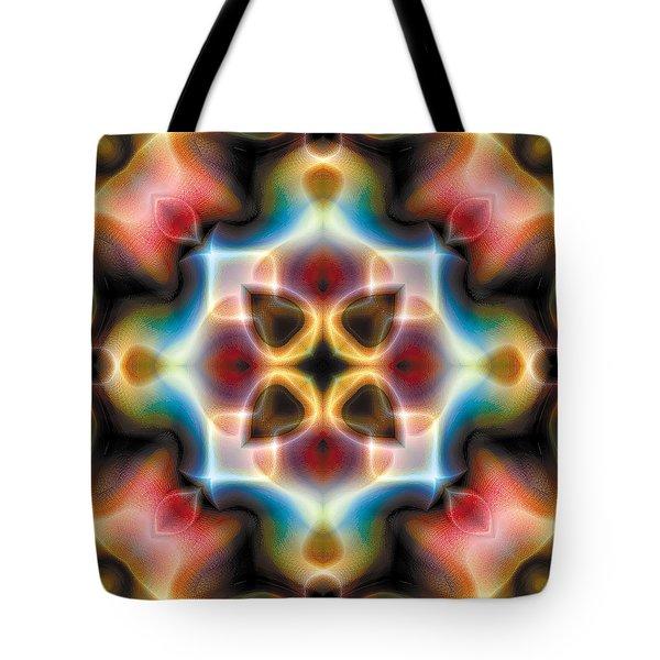 Mandala 77 Tote Bag by Terry Reynoldson
